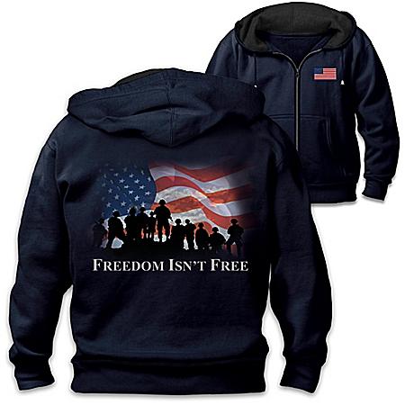 Freedom Isn't Free Men's Knit Hoodie