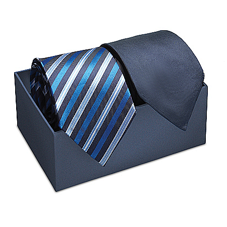 Forge Your Own Path, My Grandson Silk Tie Set