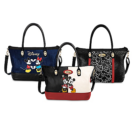Unique Disney Magical Trio Interchangeable Handbag