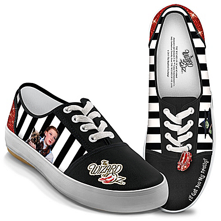 DOROTHY And The WICKED WITCH OF THE WEST WIZARD OF OZ Women's Shoes