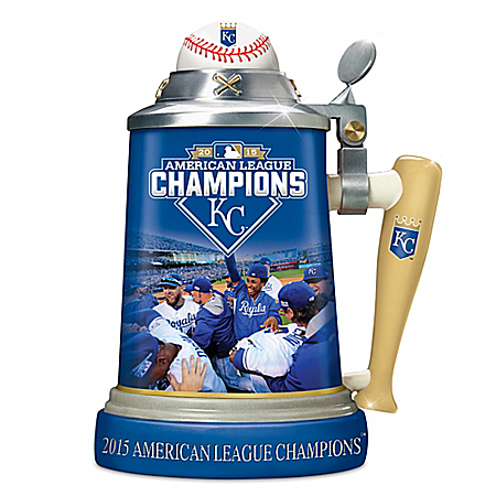 Kansas City Royals 2015 American League Champions Stein