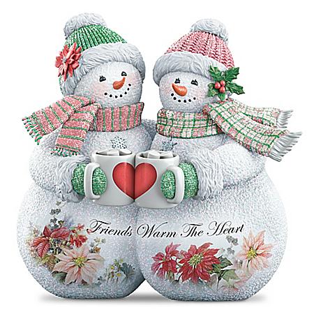 Friends Warm The Heart Sculpture