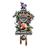 Teenage Mutant Ninja Turtles Illuminated Cuckoo Clock