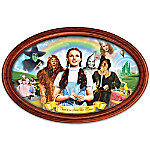 Adventures In Oz Framed Collector Plate