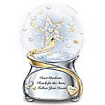 Dear Graduate, Reach For The Stars Personalized Musical Glitter Globe