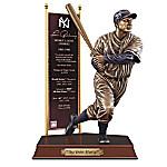 LOU GEHRIG New York Yankees Cold-Cast Bronze Sculpture