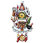 Tim Burton's The Nightmare Before Christmas Town Cuckoo Clock
