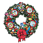 It's A Magical Disney Christmas Masterpiece Wreath