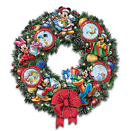 It's A Magical Disney Christmas Masterpiece Wreath