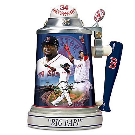 David Ortiz: Boston Red Sox Career Celebration Stein