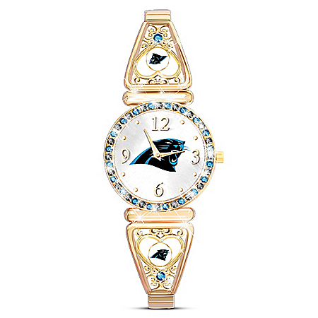 My Carolina Panthers Ultimate Fan Women's Watch