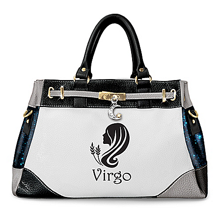 Zodiac Faux Leather Handbag