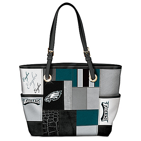 For The Love Of The Game NFL Philadelphia Eagles Women's Tote Bag