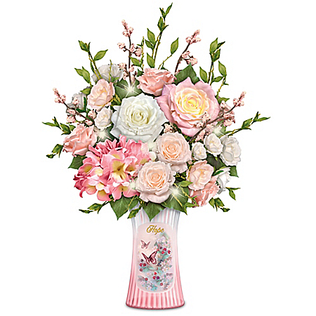 Blossoming Hope Table Centerpiece