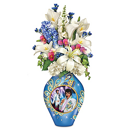 Sparkle And Style Elvis Presley Table Centerpiece