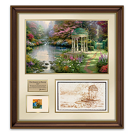 Thomas Kinkade: The Making Of A Masterpiece The Garden Of Prayer Wall Decor