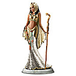 Cleopatra Goddess Of Egypt Mosaic Glass Sculpture