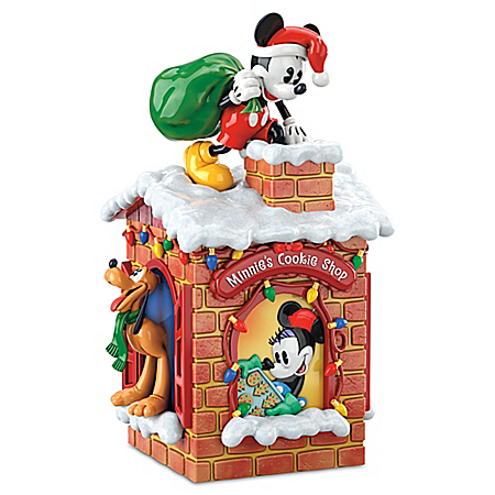 Disney Sweet Holiday Treats Mickey Mouse Cookie Jar
