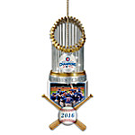 MLB-Licensed Chicago Cubs 2016 World Series Champions Holiday Ornament