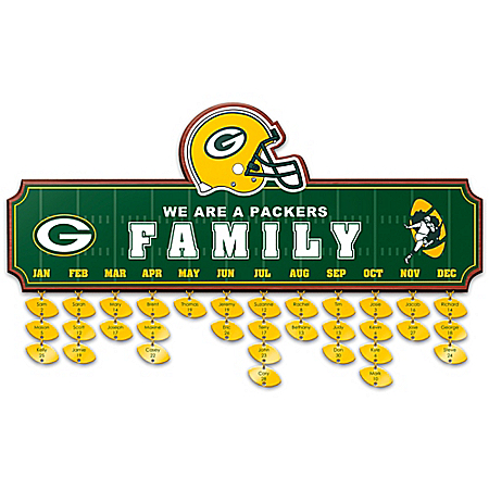 Packers Family Personalized Wall Decor