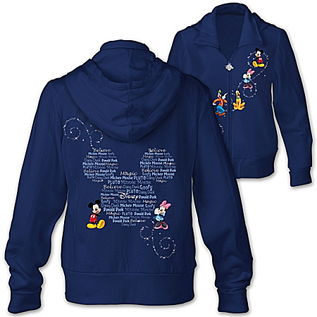 Forever Disney Mickey Mouse And Friends Women's Hoodie