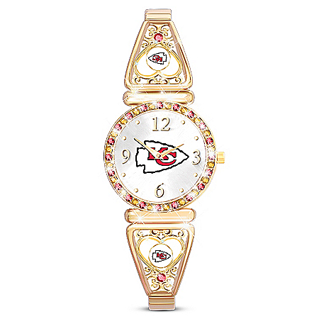 My NFL Kansas City Chiefs Ultimate Fan Women's Watch