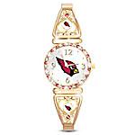 My Arizona Cardinals Ultimate Fan Women's Watch