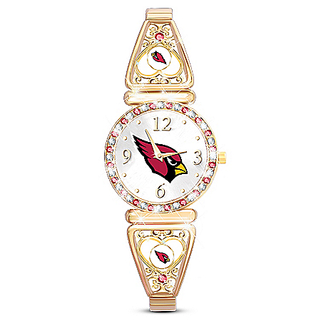 My Arizona Cardinals Ultimate Fan Women's Watch