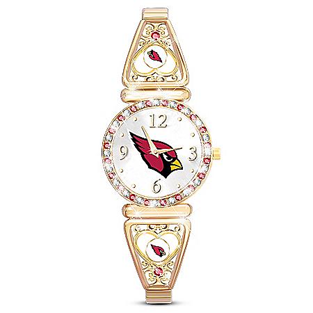 My NFL Arizona Cardinals Ultimate Fan Women's Watch