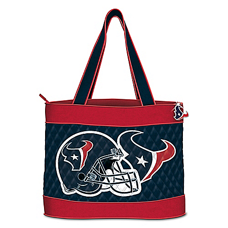 NFL Houston Texans Women's Quilted Tote Bag