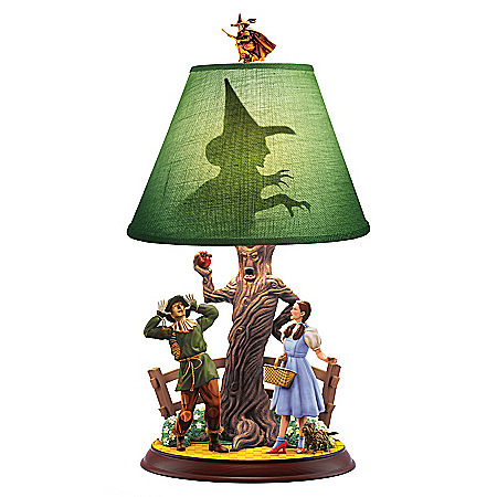 THE WIZARD OF OZ We're Not In Kansas Anymore Collectible Accent Lamp