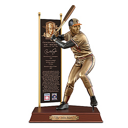 CAL RIPKEN JR. Baltimore Orioles Cold-Cast Bronze Sculpture