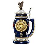 United States Navy Values Heirloom Porcelain Stein