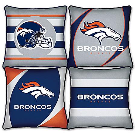 Denver Broncos Pillow Collection