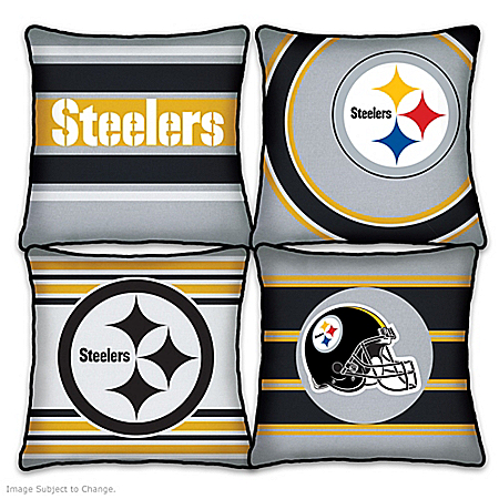 Pittsburgh Steelers Pillow Collection