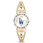 My Los Angeles Dodgers Ultimate Fan Women's Watch