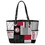 Alabama Crimson Tide Patchwork Tote Bag