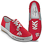 I Love The Buckeyes Ohio State Buckeyes Women's Shoes