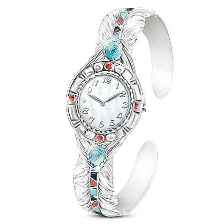 Sedona Sky Native American-Inspired Women's Cuff Watch