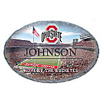 Ohio State University Buckeyes Personalized Welcome Sign