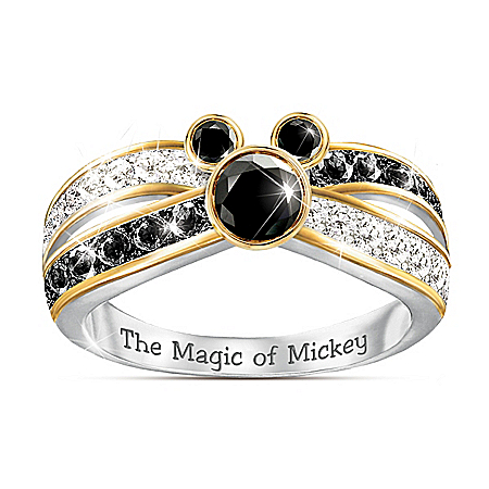 The Sparkling Magic Of Disney's Mickey Mouse Ring