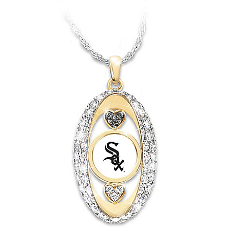 For The Love Of The Game Chicago White Sox Pendant Necklace