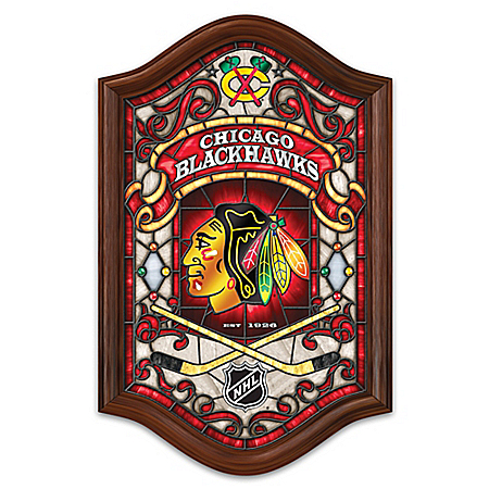 Chicago blackhawks nhl collectibles and posters for Blackhawks mural chicago