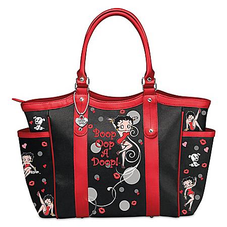 Betty Boop Oop A Doop Shoulder Tote Bag
