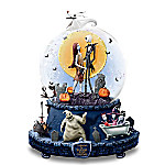 Disney The Nightmare Before Christmas Musical Glitter Globe