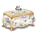 Beautiful Treasures From Lena Liu Heirloom Porcelain Music Box