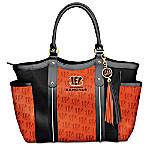 Touchdown Cincinnati Bengals! NFL Tote Bag