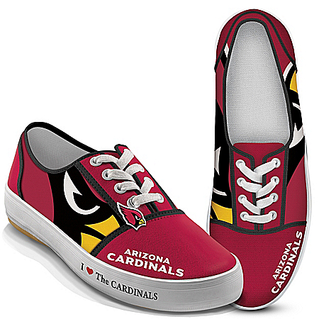 I Love The Arizona Cardinals NFL Women's Shoes