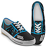 I Love The Carolina Panthers Women's Canvas Shoes