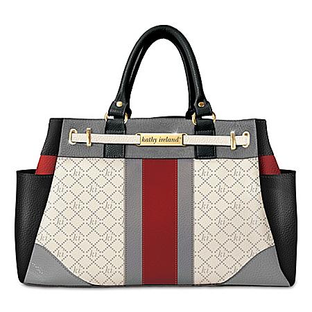 kathy ireland Signature Beauty Handbag